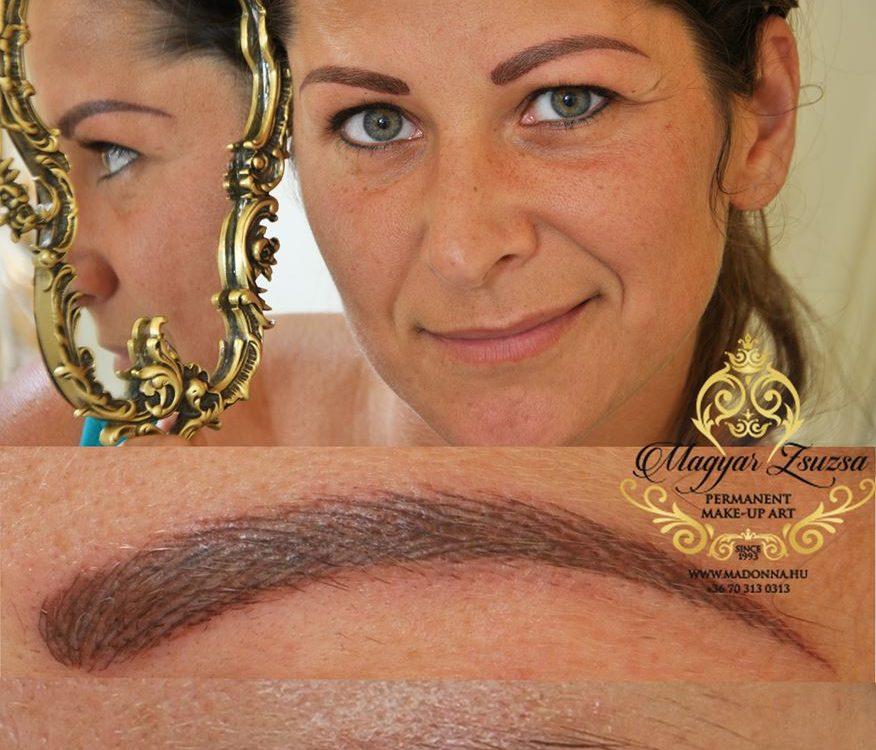 Magyar Zsuzsa-szemoldok sminktetovalas-Budapest-kozmetikai sminktetovalas-szalazonos szalas szemoldok tetovalas