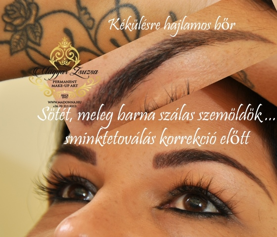 Magyar Zsuzsa-szemoldok sminktetovalas-Budapest-kozmetikai sminktetovalas-klasszikus szalas szemoldok tetovalas