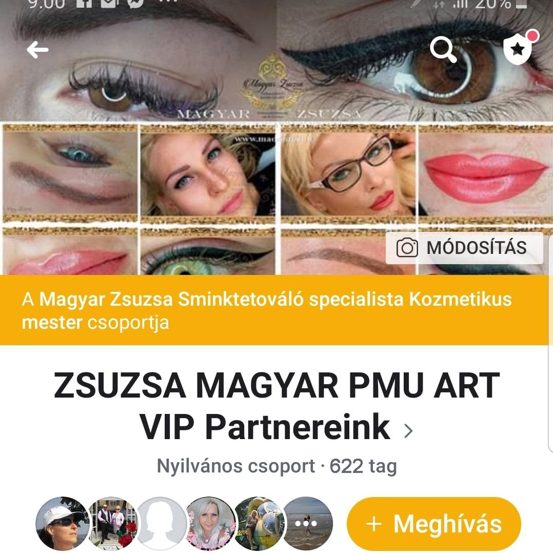 MAGYAR ZSUZSA PMU-Art VIP Group