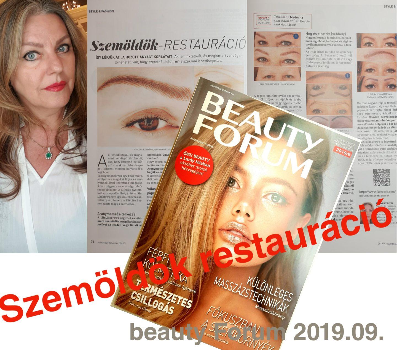 Szemöldök restauráció MAGYAR ZSUZSA PMU-Art